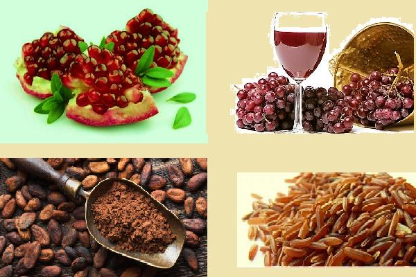 употребляя продукты, богатые полифенолами можно повысить содержание ЛПВП в крови на 5% за 1,5–2 месяца