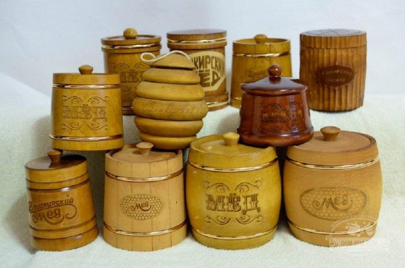 Деревянные бочонки для меда