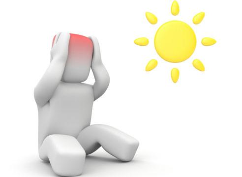 Тепловой и солнечный удар: симптомы, первая помощь1