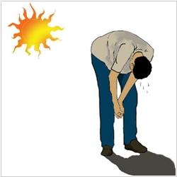 Тепловой и солнечный удар: симптомы, первая помощь4