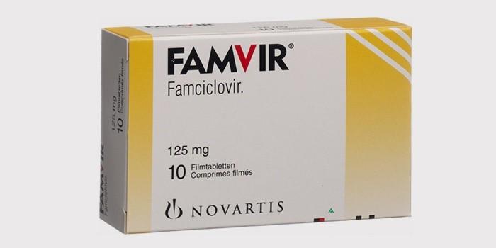 Лекарство «Фамвир» от прыщей на спине