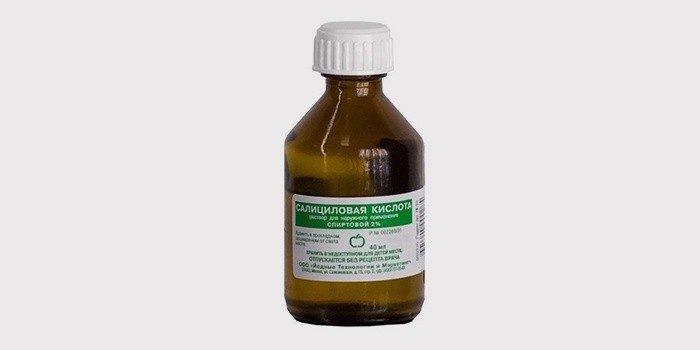 Салициловая кислота от угрей