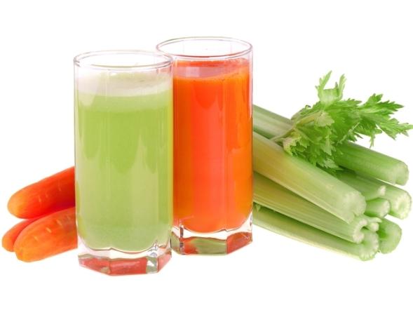 Морковно-сельдерейный сок