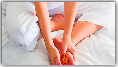 Наиболее частые симптомы беспокойных ног