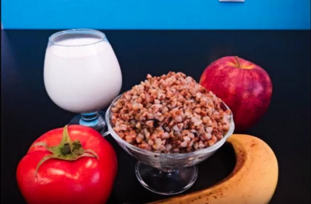 Как сбросить лишний вес, продукты для диеты