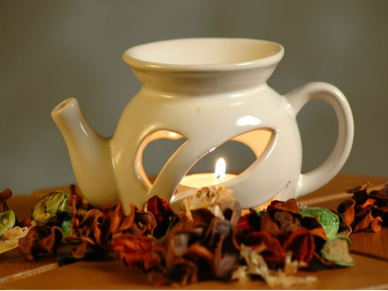 Аромалампа в форме чайника