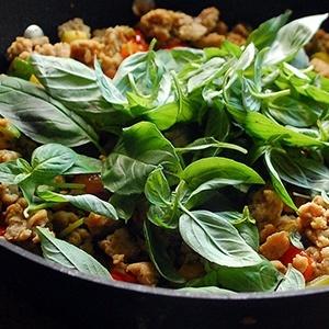 Применение базилика в кулинарии
