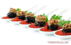 Блюда с черносливом крупно