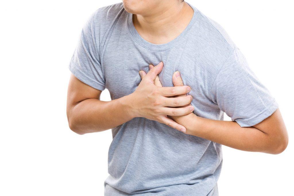 Человек с больным сердцем