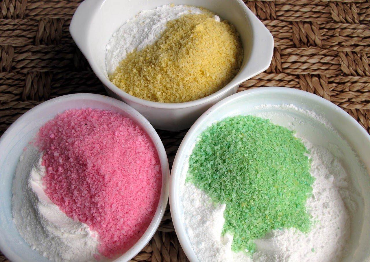 Цветная морская соль