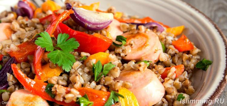 Блюда из гречки для похудения с соусом
