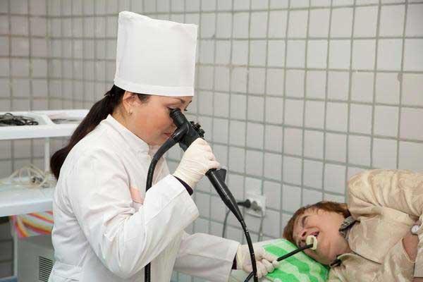 Эндоскопическое исследование полости желудка