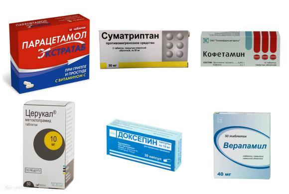 Медикаментозное лечение гемикрании