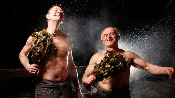 как правильно париться в бане с веником для здоровья