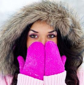 Как согреть себя на морозе?