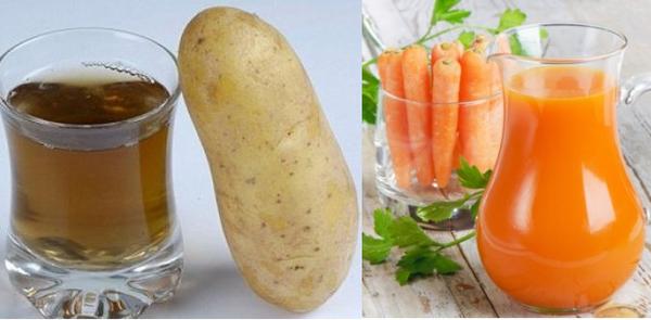 Картофельно-морковный сок