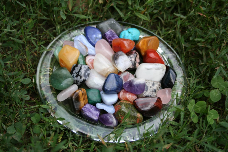 Россыпь камней. Литотерапия