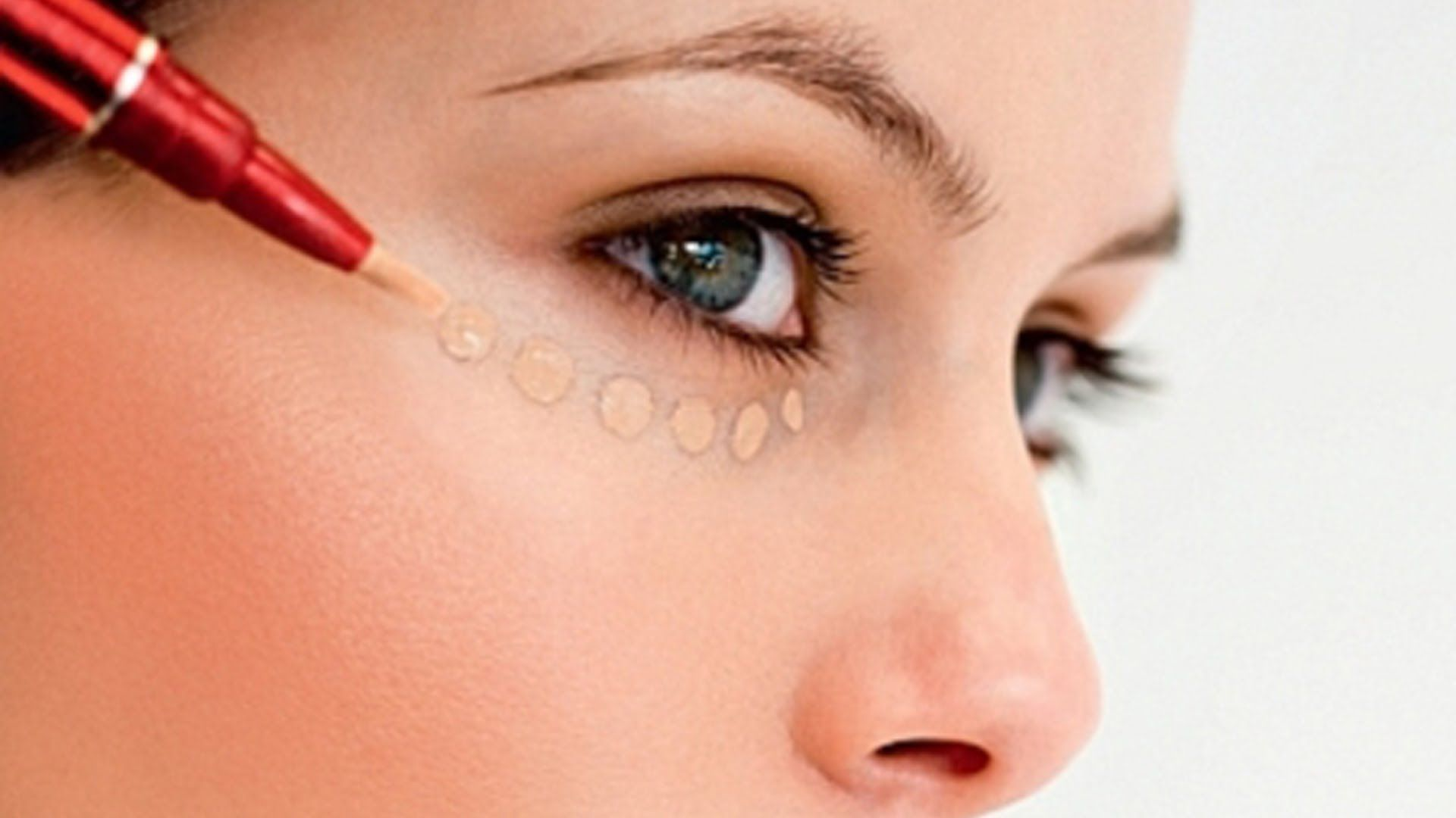 макияж, скрывающий мешки под глазами