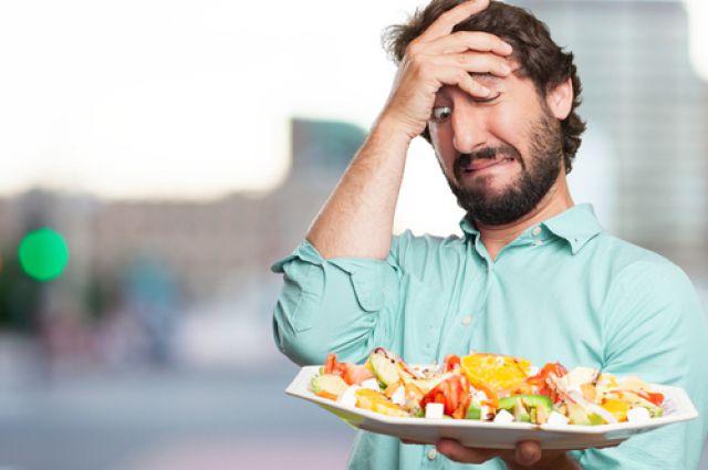 Не стоит сразу набрасываться на пищу