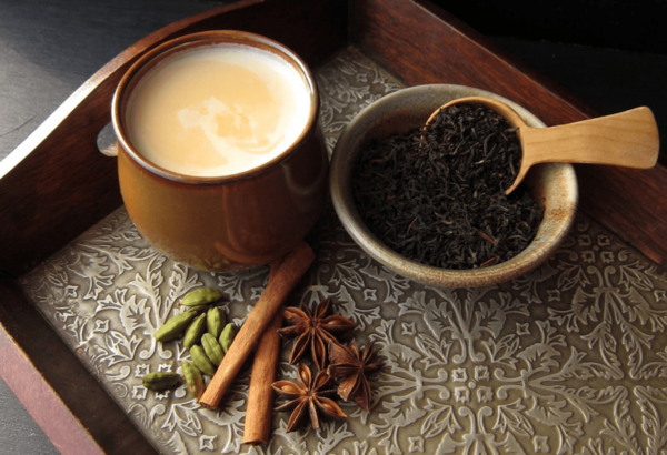 Чай с кардамоном и корицей от гриппа