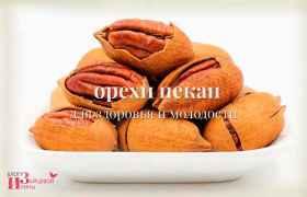 Орех пекан для здоровья и молодости