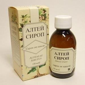 Применение сиропа Алтея в лечении детей