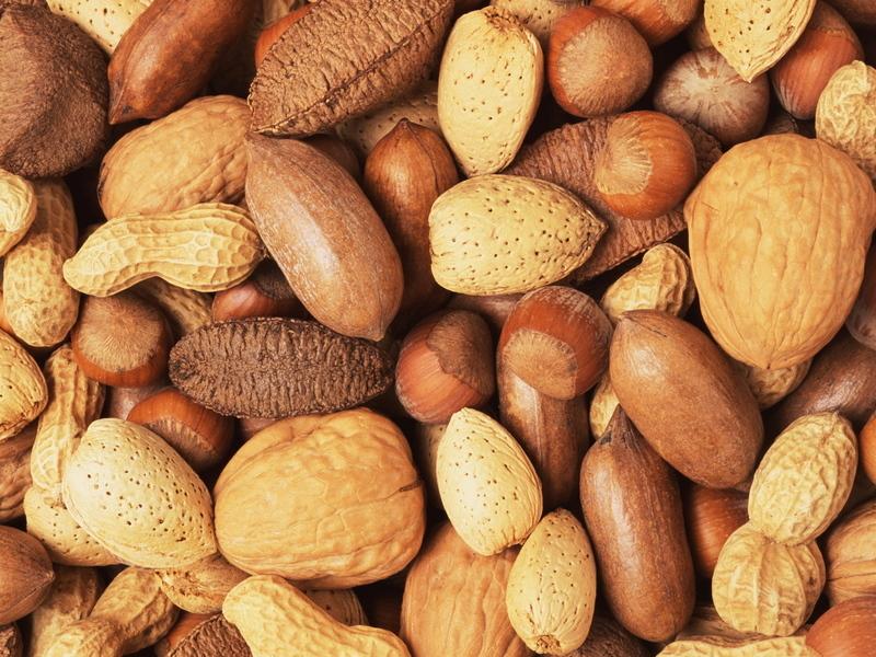 Разнообразные орехим