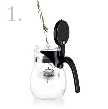 Как правильно заваривать чай в изипоте