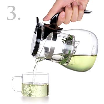 Завариваем чай в изипоте