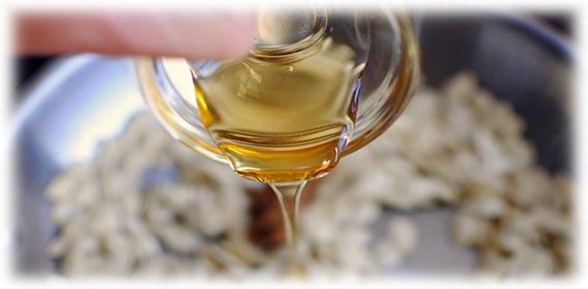 тыквенные семечки с мёдом
