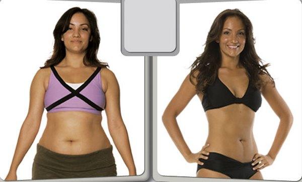 Толстая и худая женщины