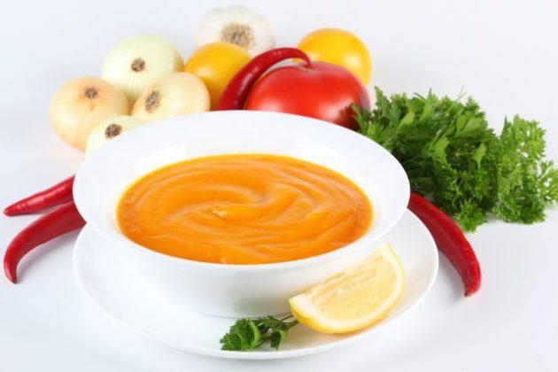Суп-пюре в диете при язвенном колите