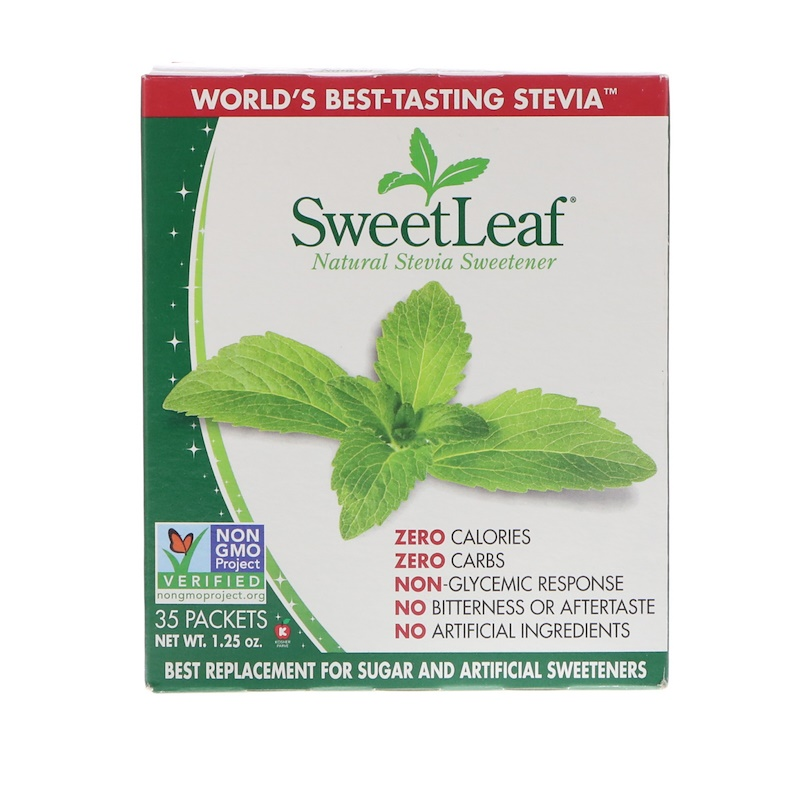 Wisdom Natural, SweetLeaf, Natural Stevia Sweetener, 35 Packets, 1.25 oz