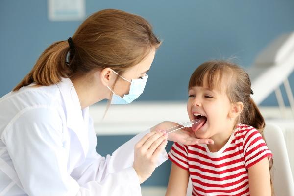 тонзиллит у детей - лечение