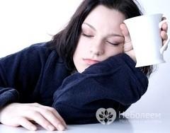 Слабость и головокружение - симптомы дефицита железа