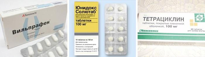 Медикаментозное лечение подкожных прыщей