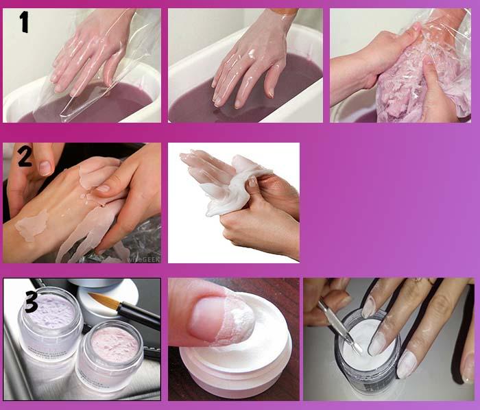 Салонные процедуры для укрепления ногтей