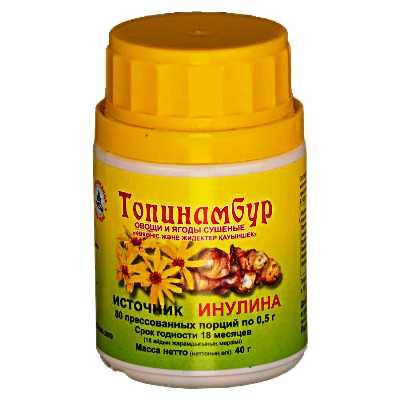 Tabletki-topinambura