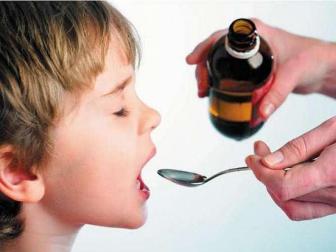 приём ребёнком кунжутного масла