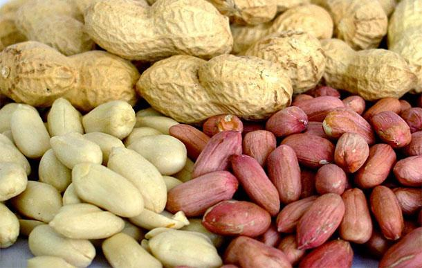 спелый арахис