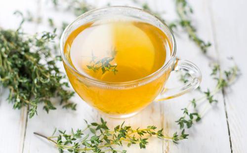 Чашка чая из целебной травы