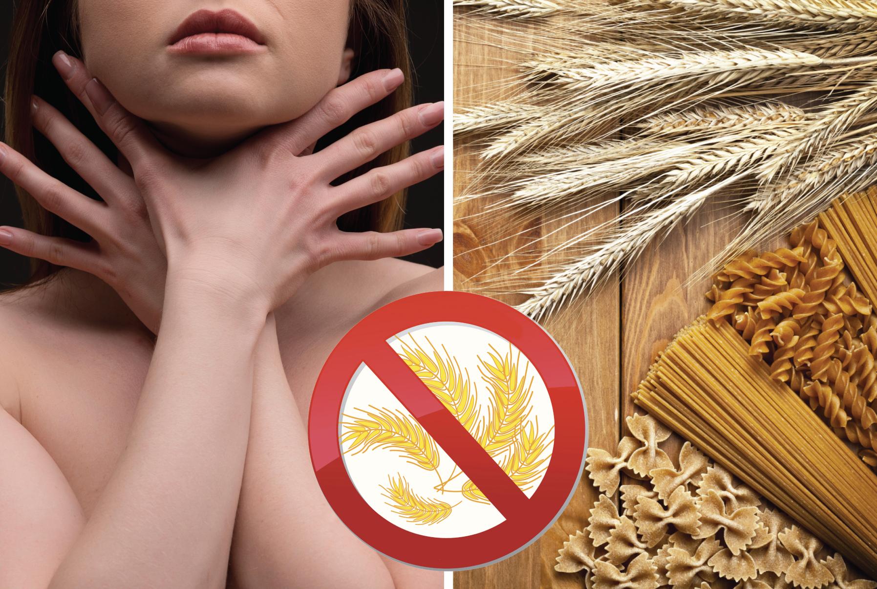 Девушка и пшеница