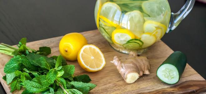 имбирный напиток для похудения рецепт