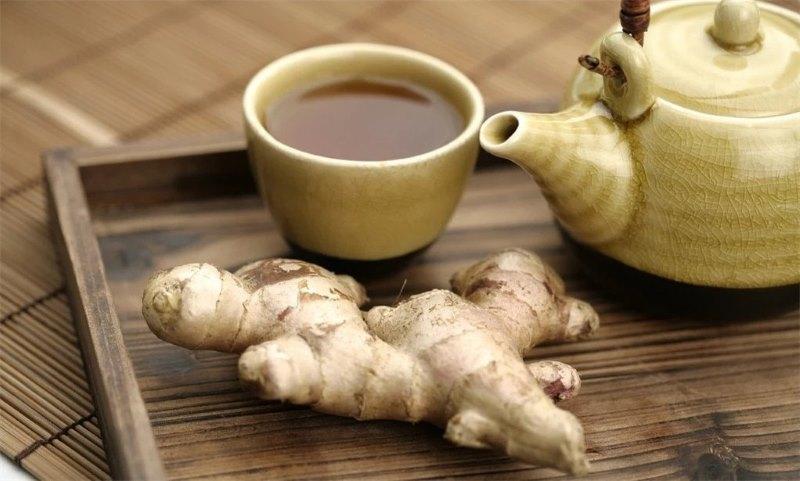 Имбирный чай выводит токсины
