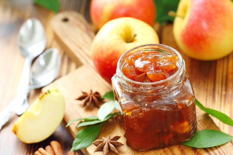 Яблочный конфитюр рецепт