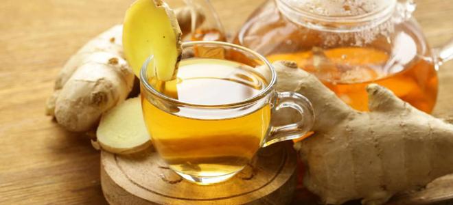 напиток из имбиря лимона и мяты