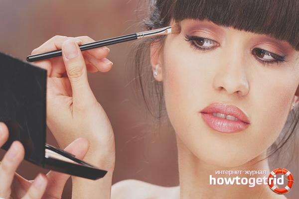 Правильный макияж для лица