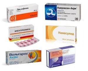 Перечень лекарств для лечения шейного остеохондроза в период обострения