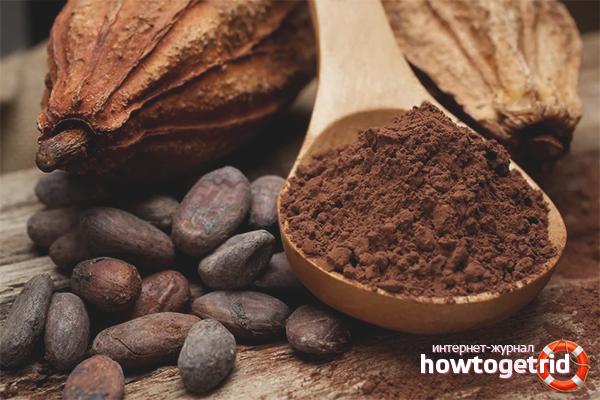 Применение какао в народной медицине