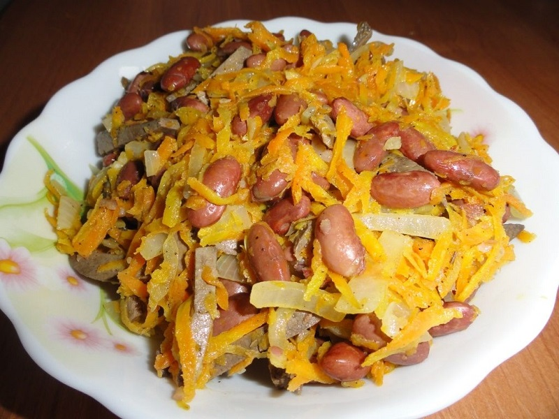 Салат из фасоли предотвратит рецидивы герпеса